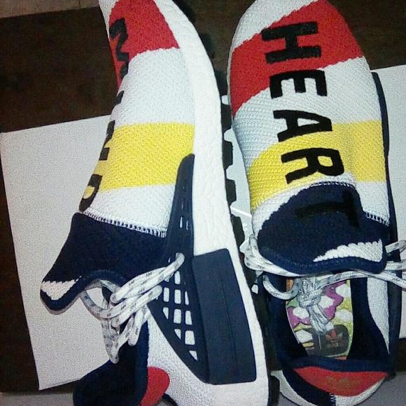 sale retailer 9d780 b870e Adidas NMD HU Pharrell X BBC NWT